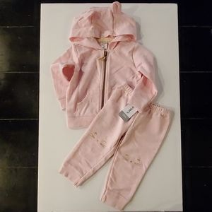 Carter's Baby Girl Sweatshirt & Sweatpant Set